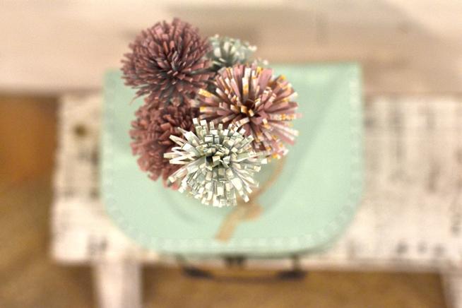 Manualidades para niños: Flores de papel