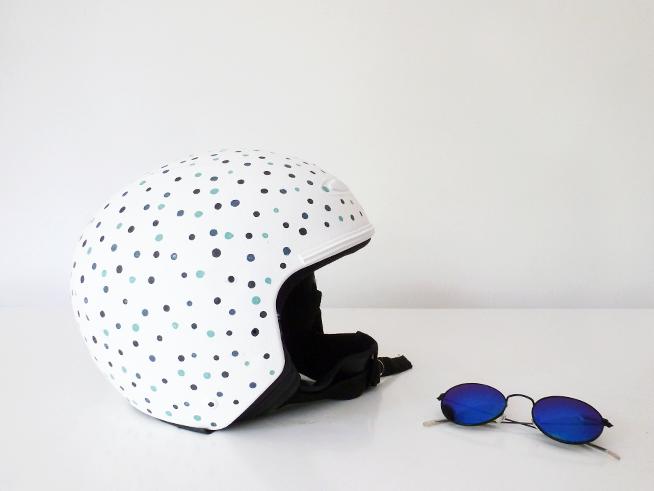 Personaliza tu casco con pintura Chalk Paint