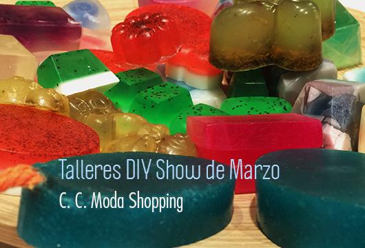 Talleres DIY Show en el Moda Shopping