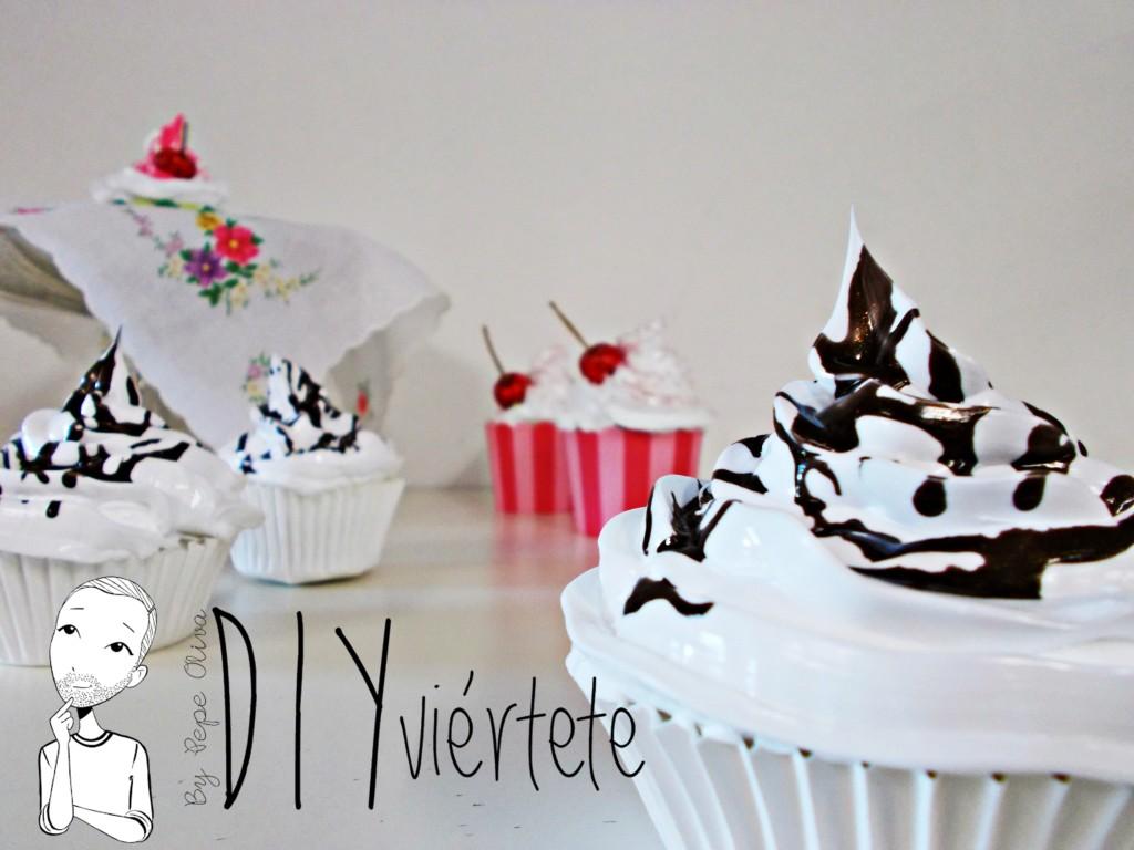 Cupcakes utilizando Decoden