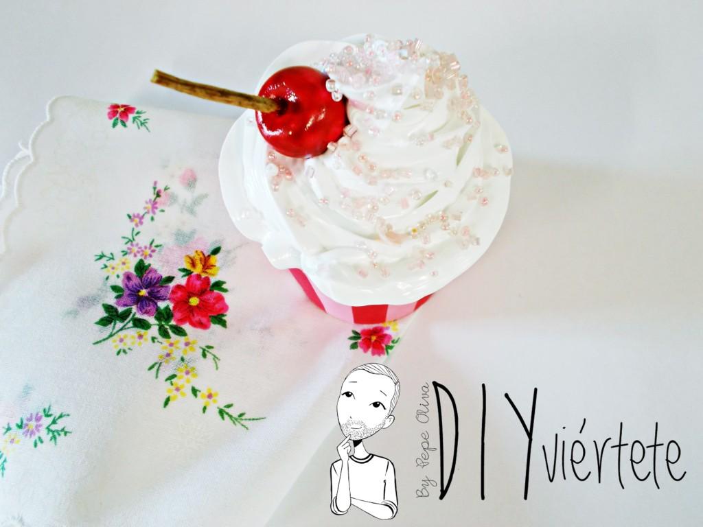 Cupcakes decorativos, no apto para golosos