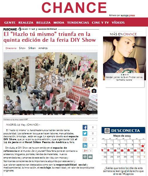 EuropaPress, agencia de noticias 23 de Mayo 2015