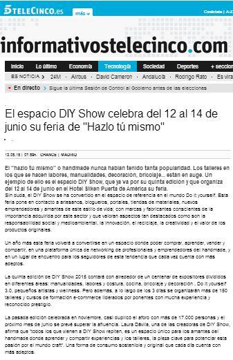 Telecinco.es, Canal de televisión nacional (13/05/2015)