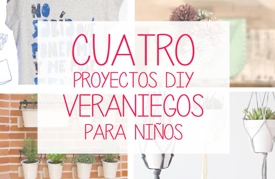 4 Proyectos creativos para niños