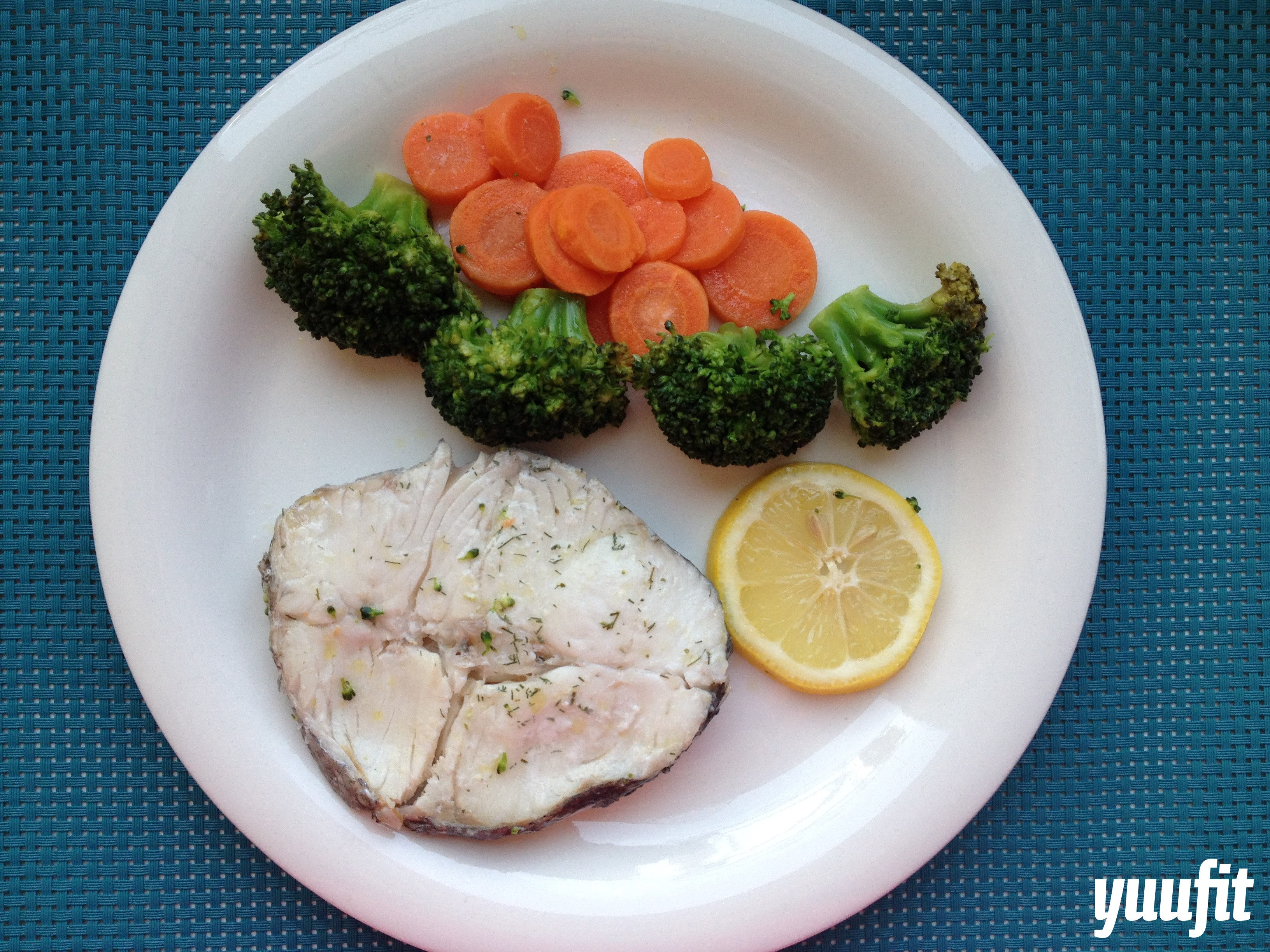 merluza con brocoli