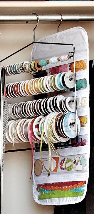 percha para cintas