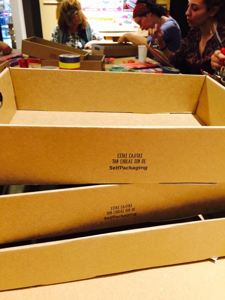 Cajas de regalo de Selfpackaging