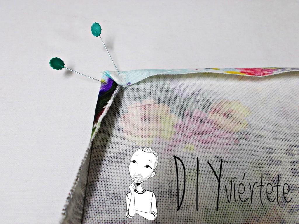 Cortamos y cosemos la tela