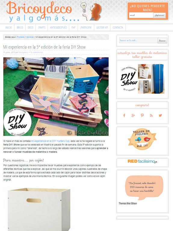 Bricoydeco.com, blog DIY (15/06/15)