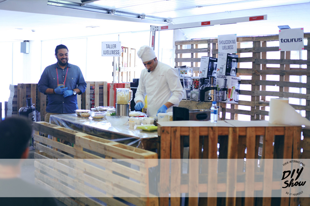 Showfood de cocina libanesa con Shukran