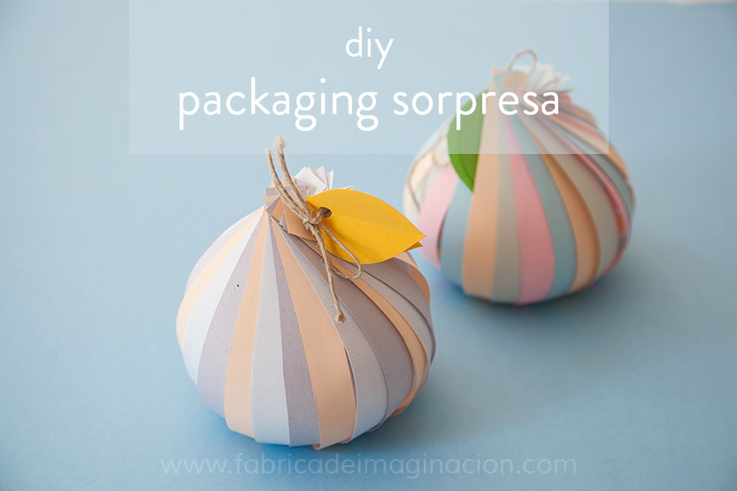 DIY Packaging sorpresa