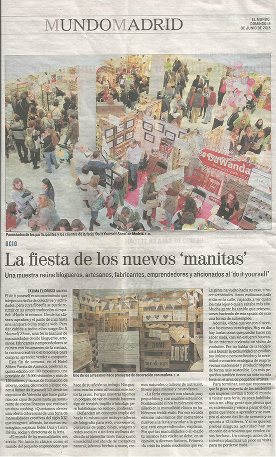 El Mundo, prensa generalista (14/06/15)