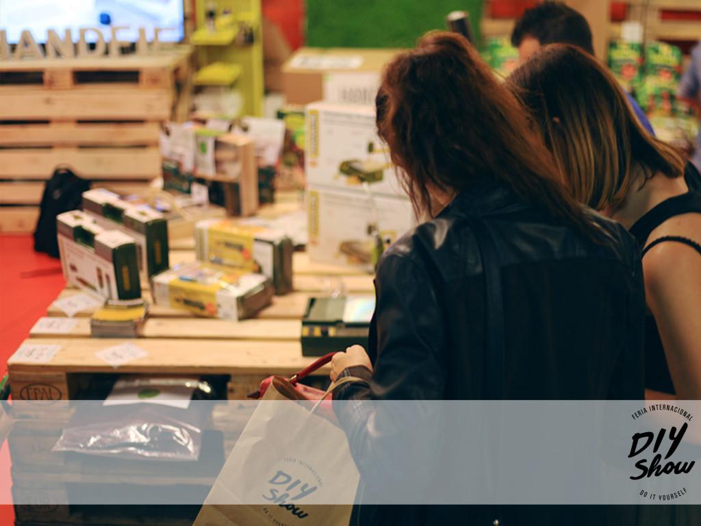 Tienda de Handfie en la 5ª Edición de DIY Show