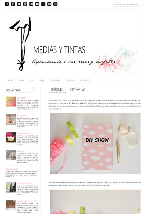 Medias y tintas, blog DIY (10/06/15)