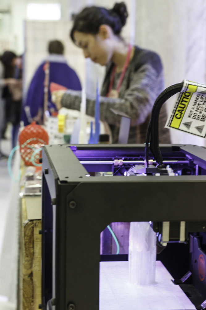 Impresora 3D en DIY Show