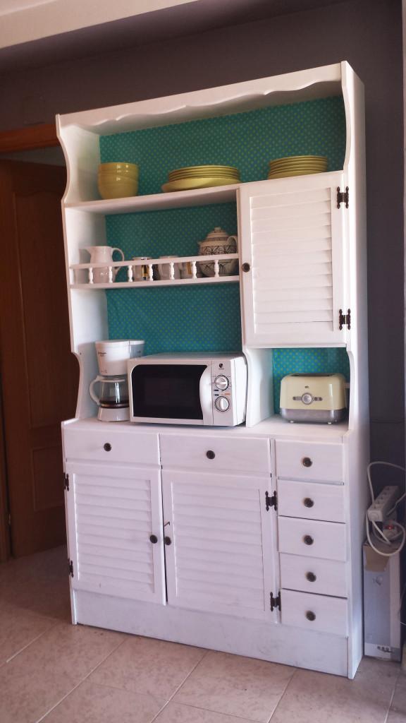 DIY: Recuperar un mueble con pintura y papel: Resultado