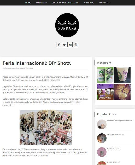 Sundara Ilustración, blog DIY (06-15)