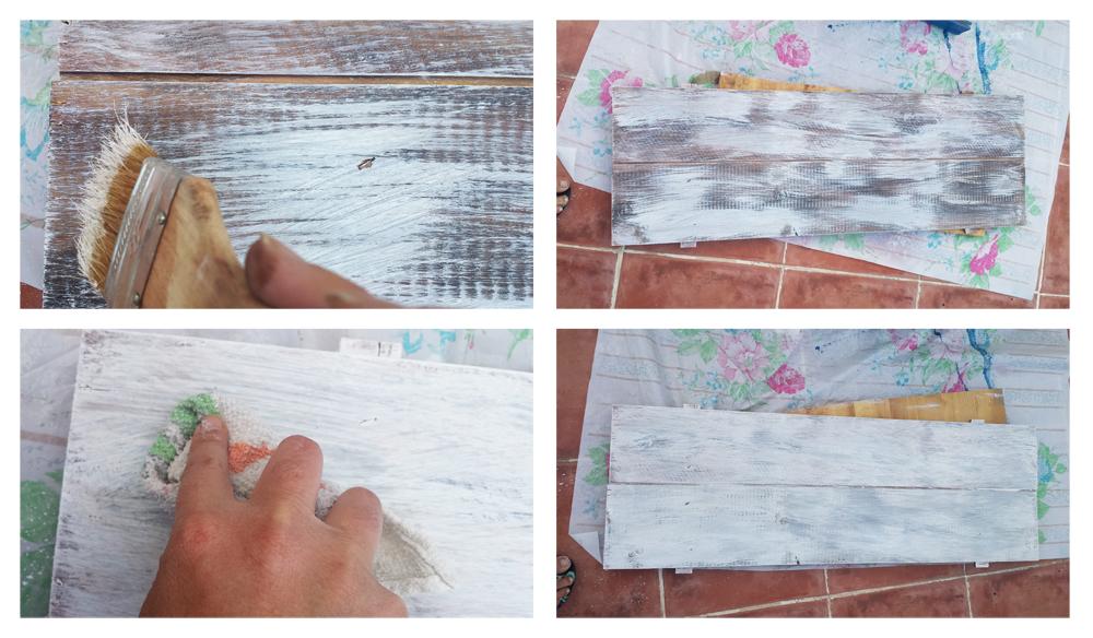 Cartel de palets - Pintar
