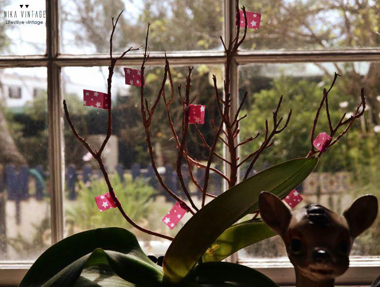 Incluso la rama puede volver a vivir con una planta!