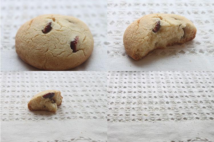 Resultado de las Galletas de maíz y arándanos