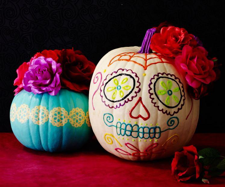 calabaza para decoración de halloween