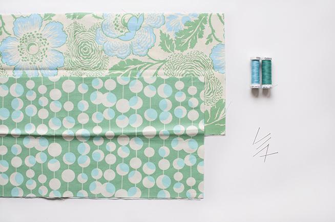 materiales cuello de tela para el otoño