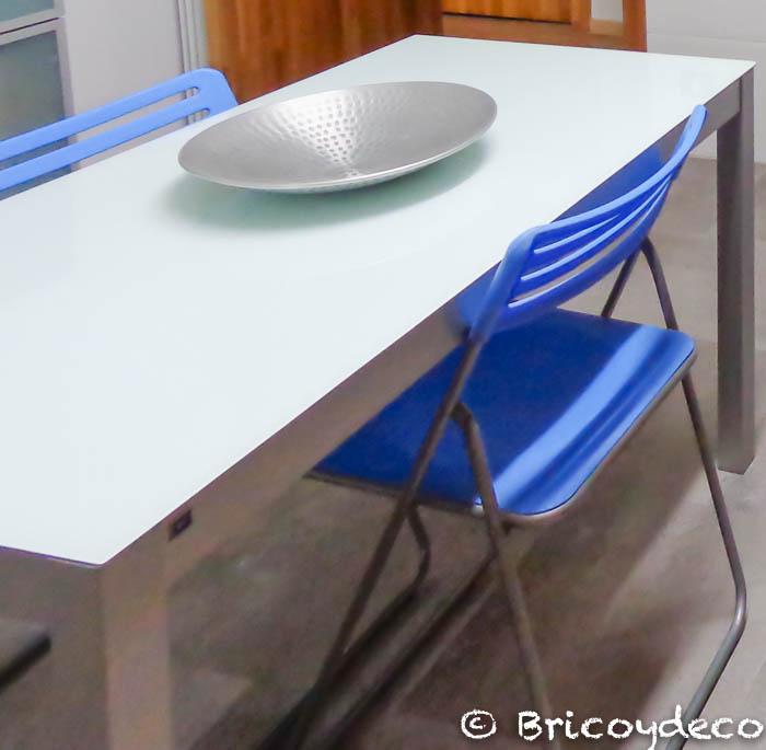 silla plegable de cocina antes