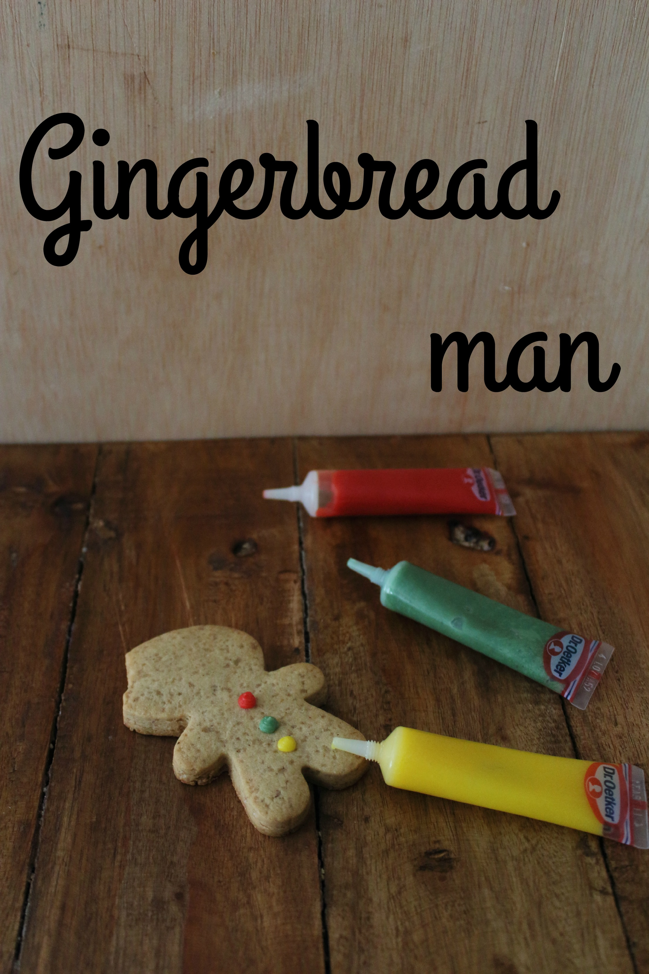 Gingerbreadman o galleta de jengibre
