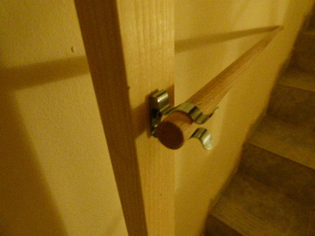 ganchitos sujetan las varillas de madera