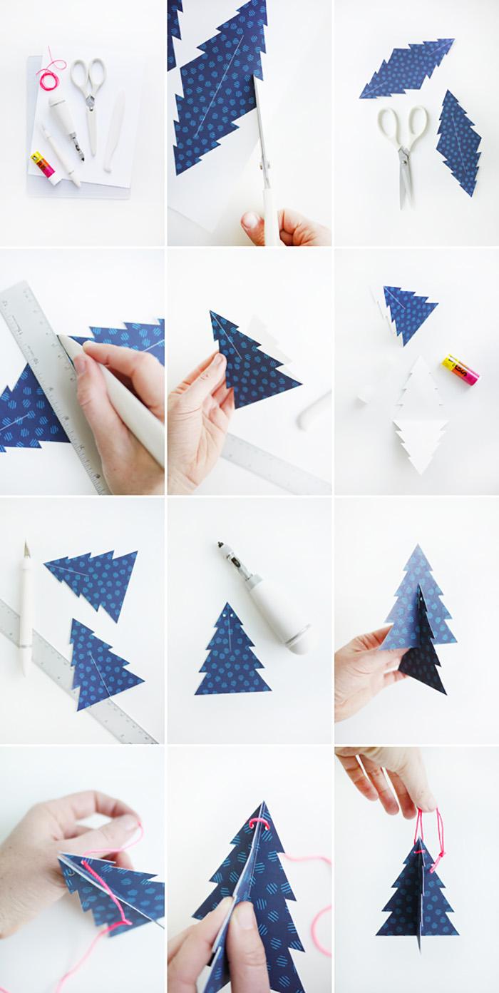 Cómo hacer los adornos de árbol de Navidad