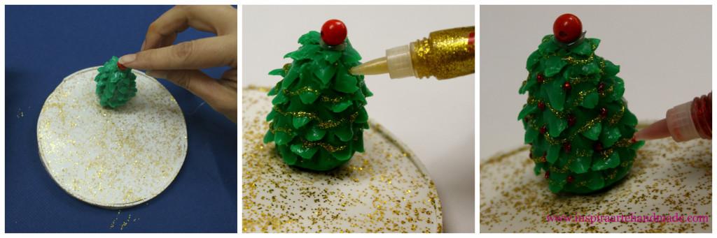 Paso 3 del árbol de Navidad