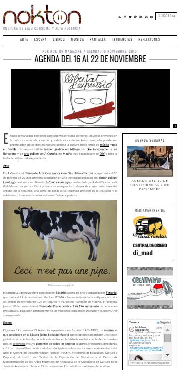 Noktonmagazine, revista online (16/11/2015)