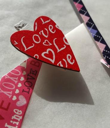 detalles de las bolsas de regalo para San Valentin