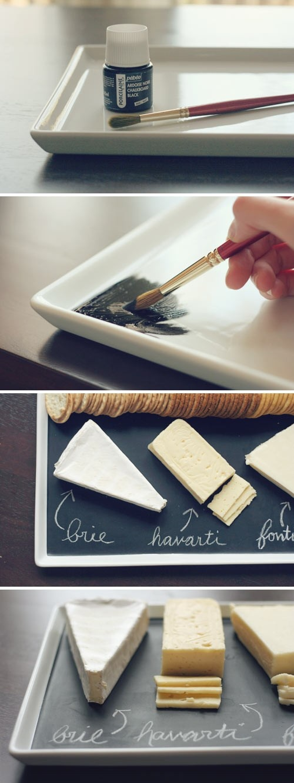 Manualidades día del padre:Tabla de quesos