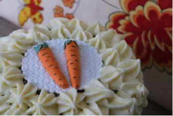 Carrot Cake de Con sabor a vintage