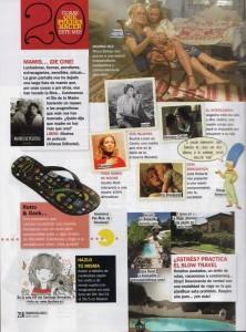 Aparición de DIY Show en Cosmopolitan del mes de Mayo