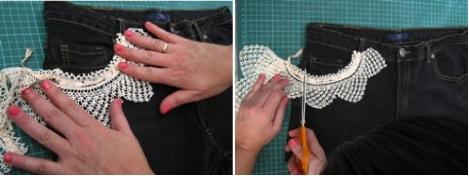 DIY de moda: Ponemos pieza de ganchillo