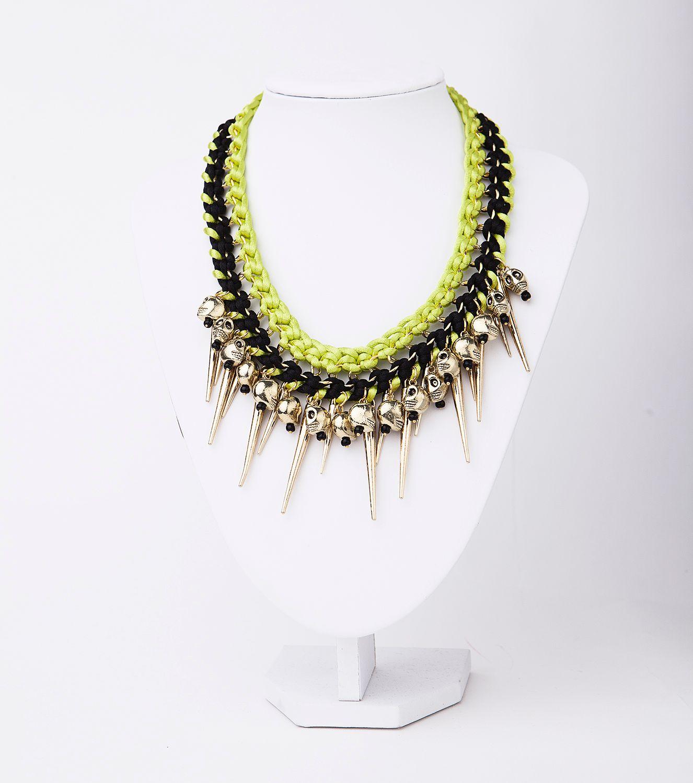Original collar con calaveras de Isha-Kandisha