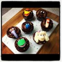 Cupcakes decorados de Jessica Cakes