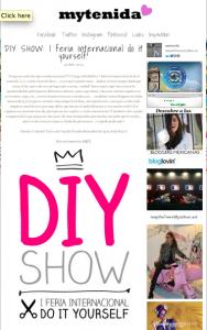 Blogger de moda MyTenida habla sobre DIY Show