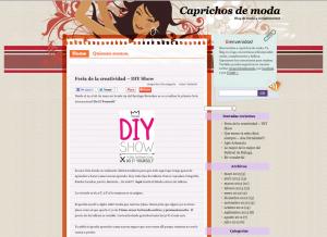 Caprichos de moda, blog de moda y complementos