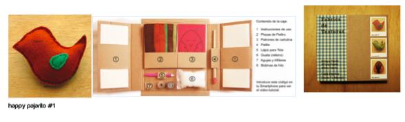 Caja broche de pajaritos de Fabrica de Texturas