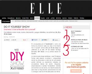Elle, revista femenina de moda, belleza, decoración...