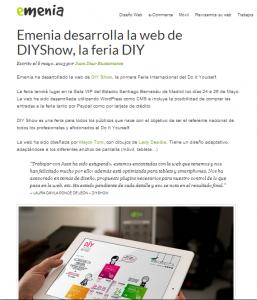 Emenia, diseño y desarrollo web