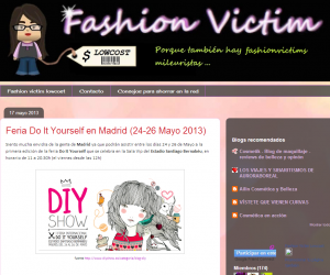Fasion Victim Lowcost, blog de moda