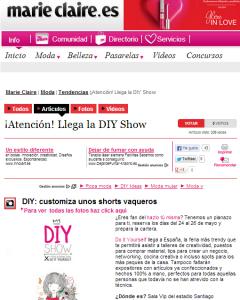 Marie Claire, revista online de tendencias de moda y belleza