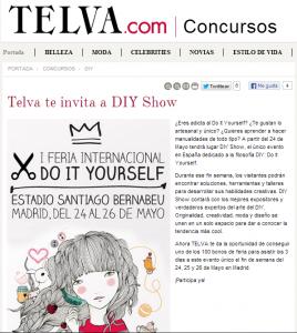 Telva.com, revista de moda y belleza (Concurso)