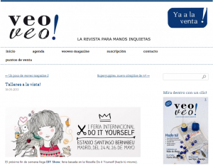 Veoveo_Magazine, blog DIY