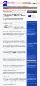 EFE Emprende, portal de noticias