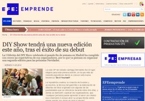 EFE Emprende: Nueva edición de DIY Show